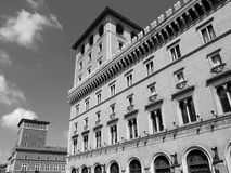 Roman buildings Royalty Free Stock Images