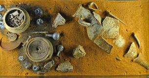 Roman Burial Stock Images