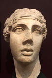Roman bust of Sappho Stock Photo
