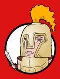 Roman cartoon Stock Photo