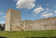 Roman Castle Royalty Free Stock Photo