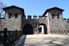 Roman Castle Saalburg Stock Photo