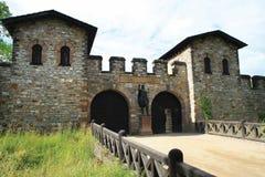 Roman Castle Saalburg Royalty Free Stock Photos