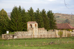 Roman castrum Royalty-vrije Stock Foto