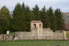 Roman castrum royalty-vrije stock afbeeldingen