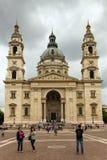 Roman Catholic basilica in Budapest Royalty Free Stock Image