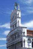 Roman Catholic basilica church in Lucca, Italy Stock Photo