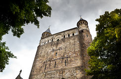 Roman catholic Basilica of Our Lady in Maastricht Stock Photos