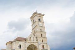 Roman Catholic Cathedral Alba Iulia Stock Photo