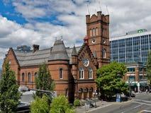 Roman Catholic Cathedral de St Andrew, Victoria, BC, Canadá imagem de stock royalty free