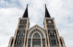 Roman-Catholic Cathedral of the immaculate conception Royalty Free Stock Photography