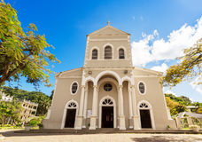 Roman Catholic cathedral of the immaculate conception, Victoria, Stock Images