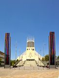 Roman Catholic Cathedral, Liverpool. Stock Image