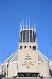 Roman Catholic Cathedral, Liverpool. Stock Photos