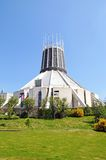 Roman Catholic Cathedral, Liverpool. Stock Photo