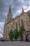 Roman Catholic Cathedral The Name av Mary, Novi Sad Royaltyfri Foto