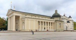 Roman Catholic Cathedral principal de Lituania Fotografía de archivo