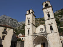 Roman Catholic Cathedral of Saint Tryphon Royalty Free Stock Photography