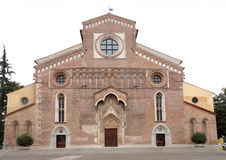 Roman Catholic Cathedral Santa Maria Maggiore de Udine, Italia foto de archivo