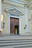 The Roman Catholic Cathedral of St. Catherine in Saint Petersburg Stock Photography