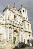 Roman Catholic cathedral in Valladolid, Spain. Stock Photography