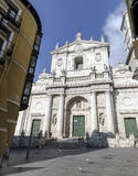Roman Catholic cathedral in Valladolid, Spain. Royalty Free Stock Photography