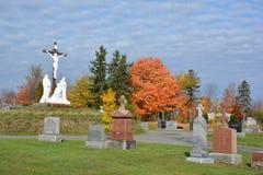 Roman Catholic Cemetery Royaltyfria Foton