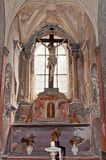 Roman Catholic Chapel Interior Royalty Free Stock Photography