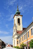 Roman catholic church. In Hungary stock images