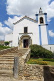 Roman catholic church. In Torres Vedras, Portugal stock photo