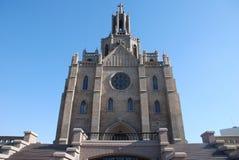 Roman Catholic church. Located in Middle Asia, capital of Uzbekistan - city Tashkent Royalty Free Stock Images