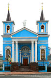 Roman Catholic Church. Exaltation of the Holy Cross in Kazan, Russia Stock Photo