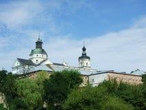 The Roman-Catholic church of Carmelites. In Berdychiv, Ukraine royalty free stock image
