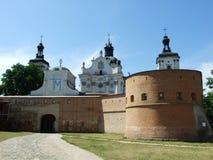 The Roman-Catholic church of Carmelites. In Berdychiv, Ukraine stock photo