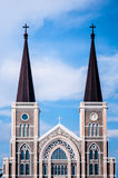 Roman Catholic Church, Chanthaburi, Thaïlande Image stock