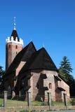 Roman Catholic Church in Csenger, Hongarije Stock Fotografie