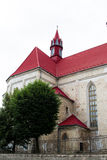 Roman Catholic Church dei san Peter e Paul in Berezhany. L'Ucraina. Fotografia Stock