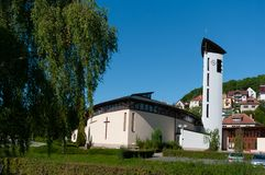 Roman Catholic Church della famiglia santa Immagini Stock