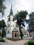 Roman-Catholic church in Dolny Kubin Royalty Free Stock Images