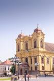 Roman Catholic Church - Dome St. George - Union Square -Timisoara Royalty Free Stock Photos