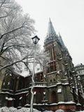 Roman Catholic Church em Kyiv imagens de stock royalty free