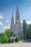 Roman Catholic Church em Vinga fotos de stock