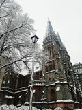Roman Catholic Church en Kiev imágenes de archivo libres de regalías
