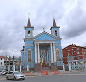 Roman Catholic Church of the Exaltation of the Holy Cross in Kaz Stock Image