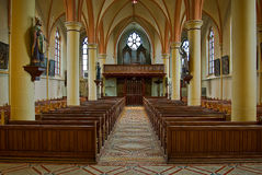 Roman catholic church in Gendringen Holland Stock Photos