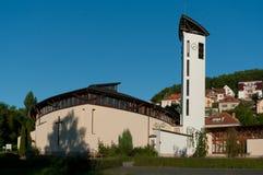 Roman Catholic Church of the Holy Family. Royalty Free Stock Photography