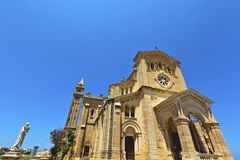 Roman Catholic church on the island of Gozo, Malta. Stock Photography