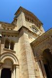 Roman Catholic church on the island of Gozo, Malta. The National Shrine of the Blessed Virgin of Ta' Pinu on the island of Gozo, Malta Stock Image
