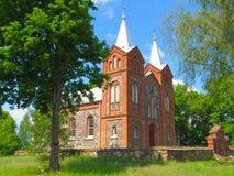Roman Catholic Church. In Latvia Stock Image