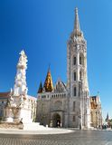 Roman Catholic church, Matthias Church, Budapest, Hungary Royalty Free Stock Photo